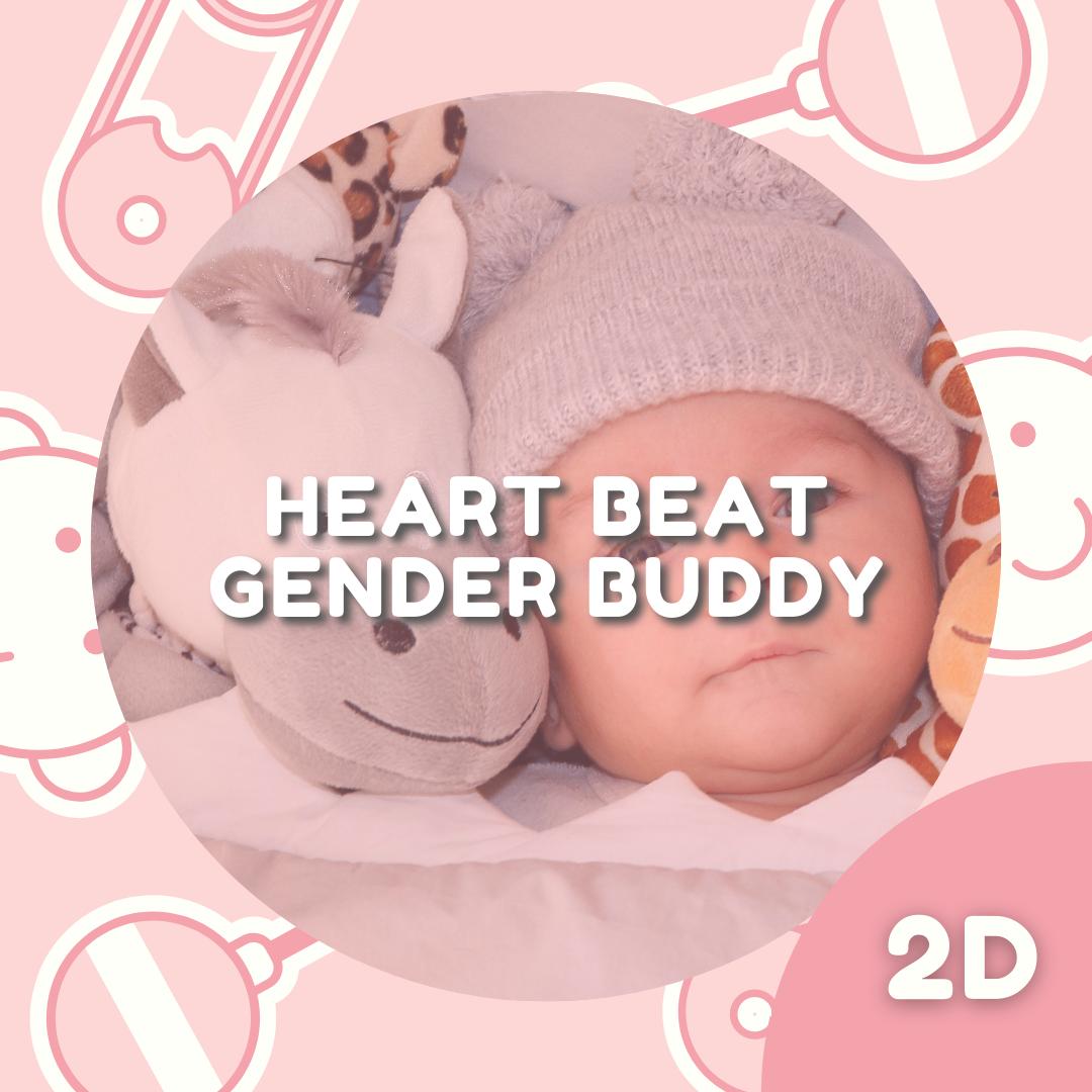 Heartbeat Gender Buddy Package