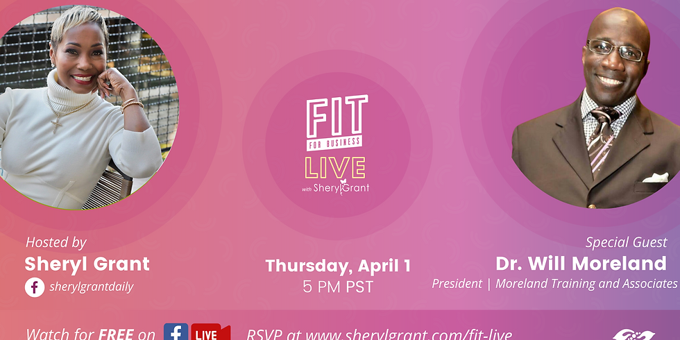 """FIT LIVE! Talking """"Importance of Transformational Leadership"""" with Dr. Will Moreland!"""