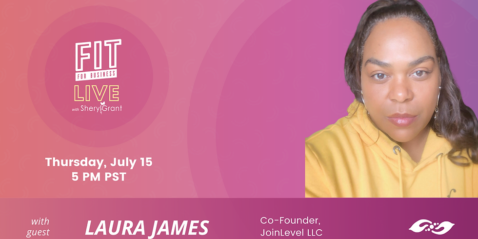"""FIT LIVE! Talking """"Entrepreneurship in Tech"""" with the Marketing Genius, Laura James!"""