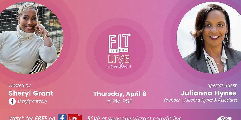 """FIT LIVE! Talking """"Global Leadership Advancement Strategies"""" with Executive Leadership Coach Dr. Julianna Hynes"""