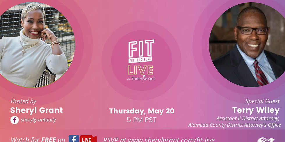 """FIT LIVE! Talking """"Transformation in Criminal Justice"""" with Assisant District Attourney II, Terry Wiley!"""