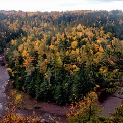 Montreal River Gorge Gogebic County, MI.