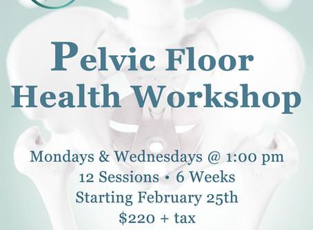 PELVIC FLOOR HEALTH WORKSHOP FOR WOMEN