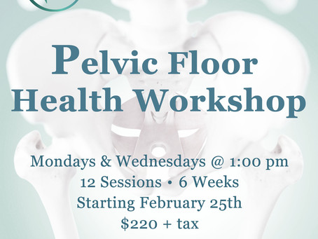 PELVIC FLOOR HEALTH WORKSHOP FOR WOMEN