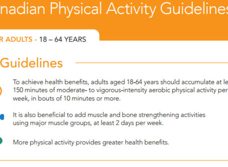PHYSICAL ACTIVITY … WHAT DOES THIS REALLY MEAN?