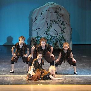 Satyrs in Midsummer Nights Dream, Spring Ballet