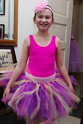 Tutus are part of everyday life at Toe To Toe Ballet