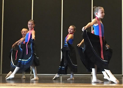 Juniors perform a character piece