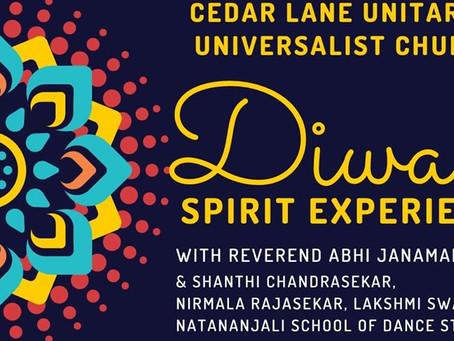 Deepavali Celebrations-Cedar Lane Unitarian Universalist