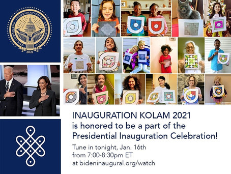 2021 Kolam - Presidential Inauguration Celebration Video
