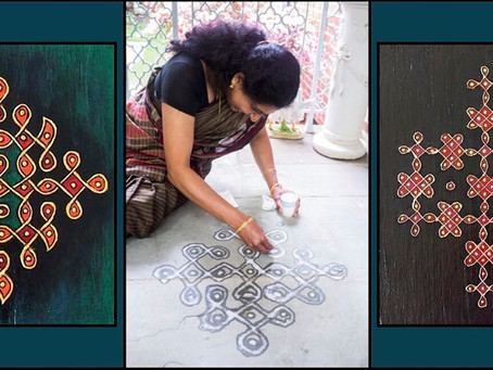 Kolam Workshop-Gandhi Memorial Center