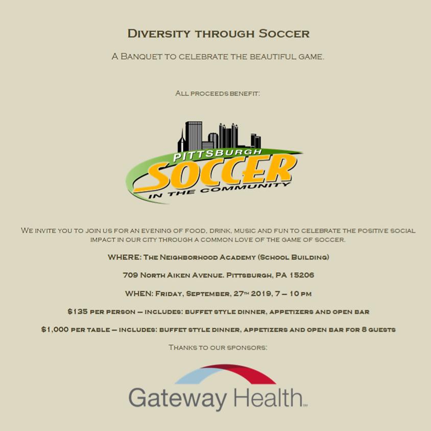 Diversity Through Soccer Banquet
