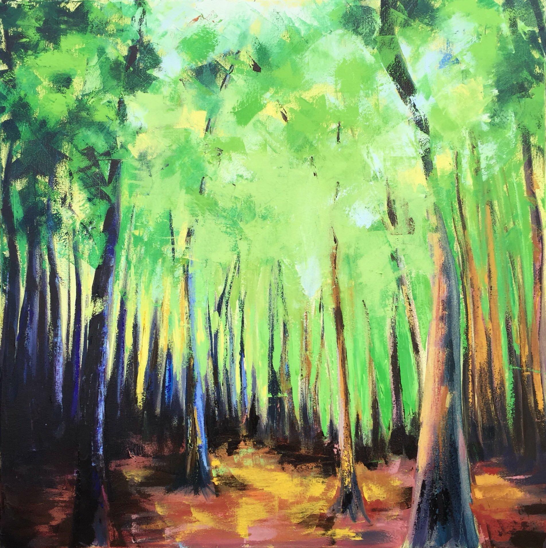 Woodland Glow, Series 1, #1, 2016