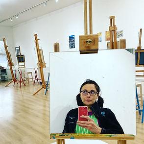 Studio - workshops - me in mirror.jpeg