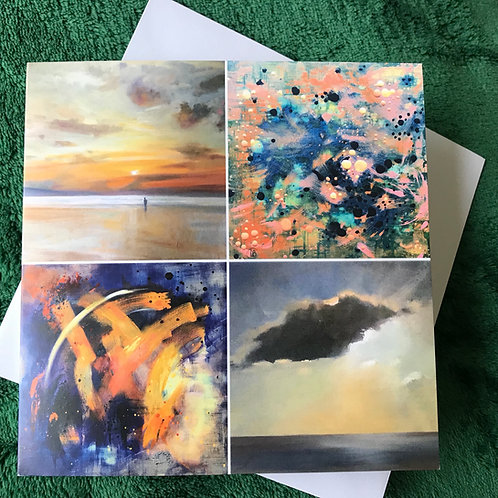 Dreamscapes: Visions From the Subconscious Greetings Card