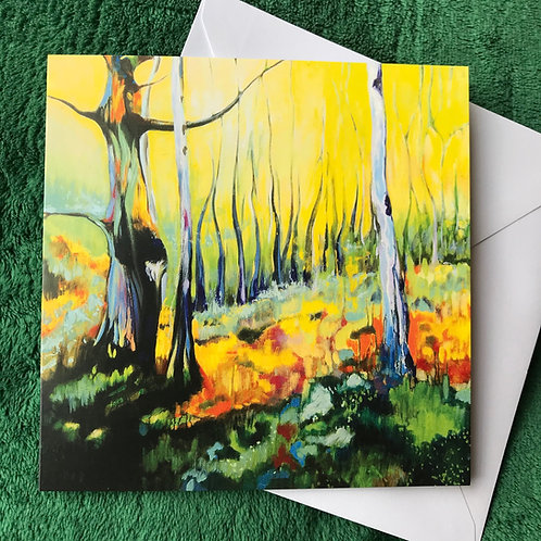 Woodland Glow Series 2 #1 - Greetings Card