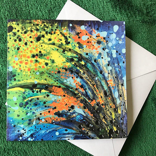 Dreamscapes Series 3 #9 Greetings Card