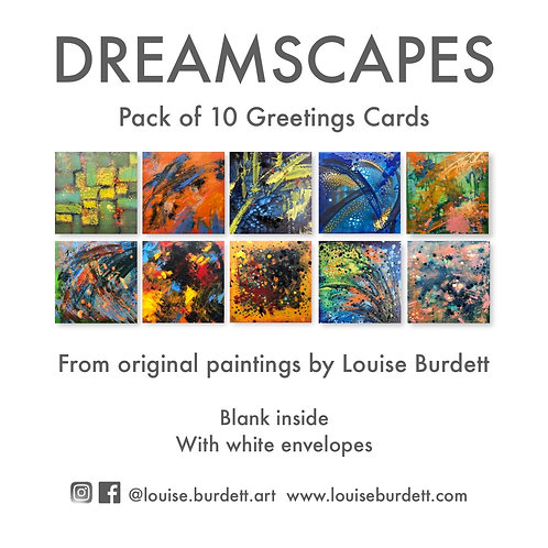 Dreamscapes 10 Card Pack