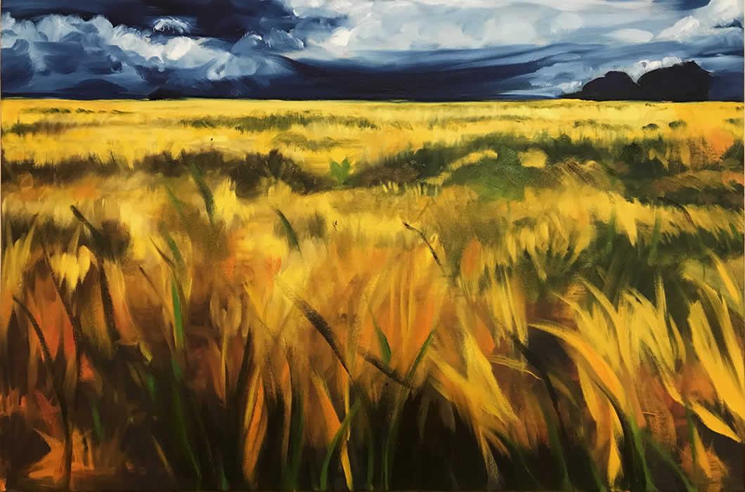 Cleddau Barleyfield #5, 2017