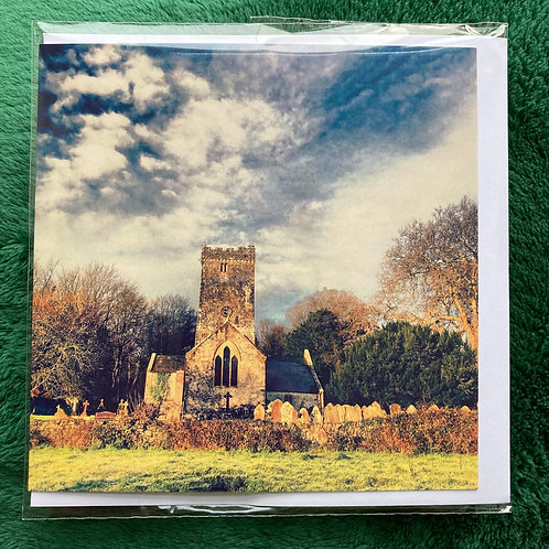 Golden Church, Lawrenny 2019 - Greetings Card