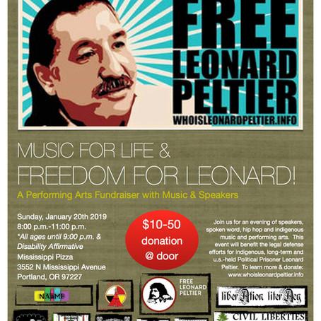Fundraiser for Leonard Peltier!