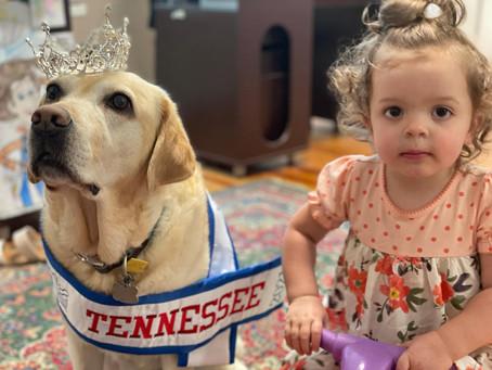 AEM's Mini Little Miss Tennessee Visits Ophie