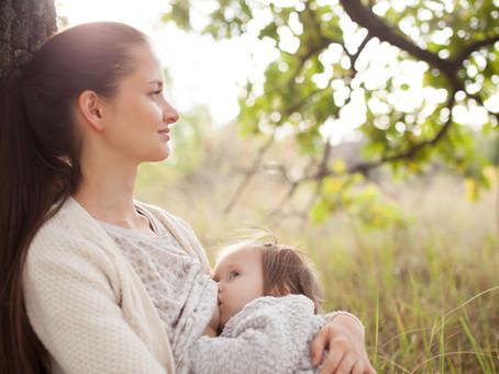 Stillen ist gut für Mutter und Kind