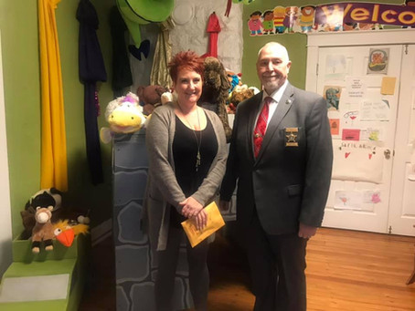 Sumner County Sheriff's Department Donates