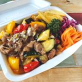 森の姫牛とたっぷり野菜のカルビ丼