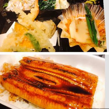 うな丼天ぷら弁当 (ごはん有)