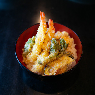 酢飯の天丼