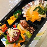 お刺身弁当(ごはん付き)