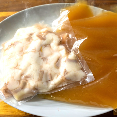 森の姫牛もつ・ダシ汁セット(トリュフつき)