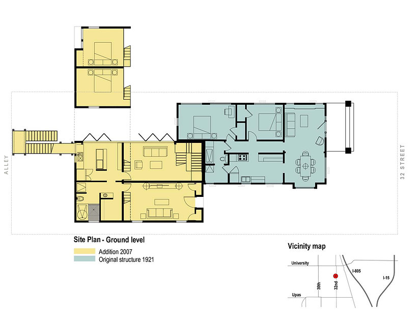Project 01 bulding floor plan