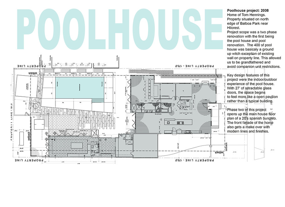 Project 02 Building floor plans
