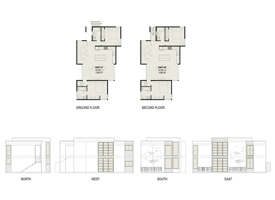 Project 03 typical unit floor plan