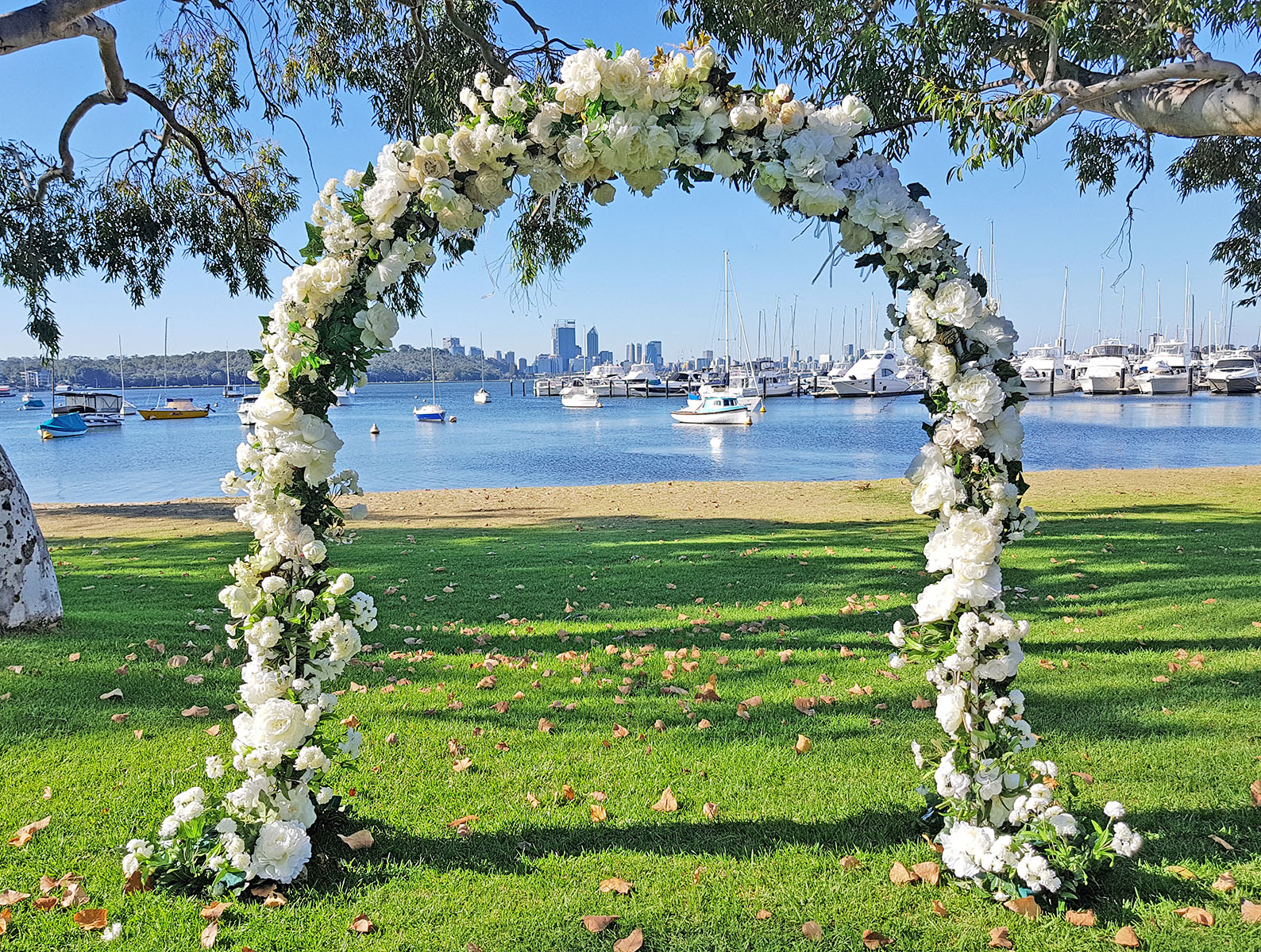 Floristic Archway $220