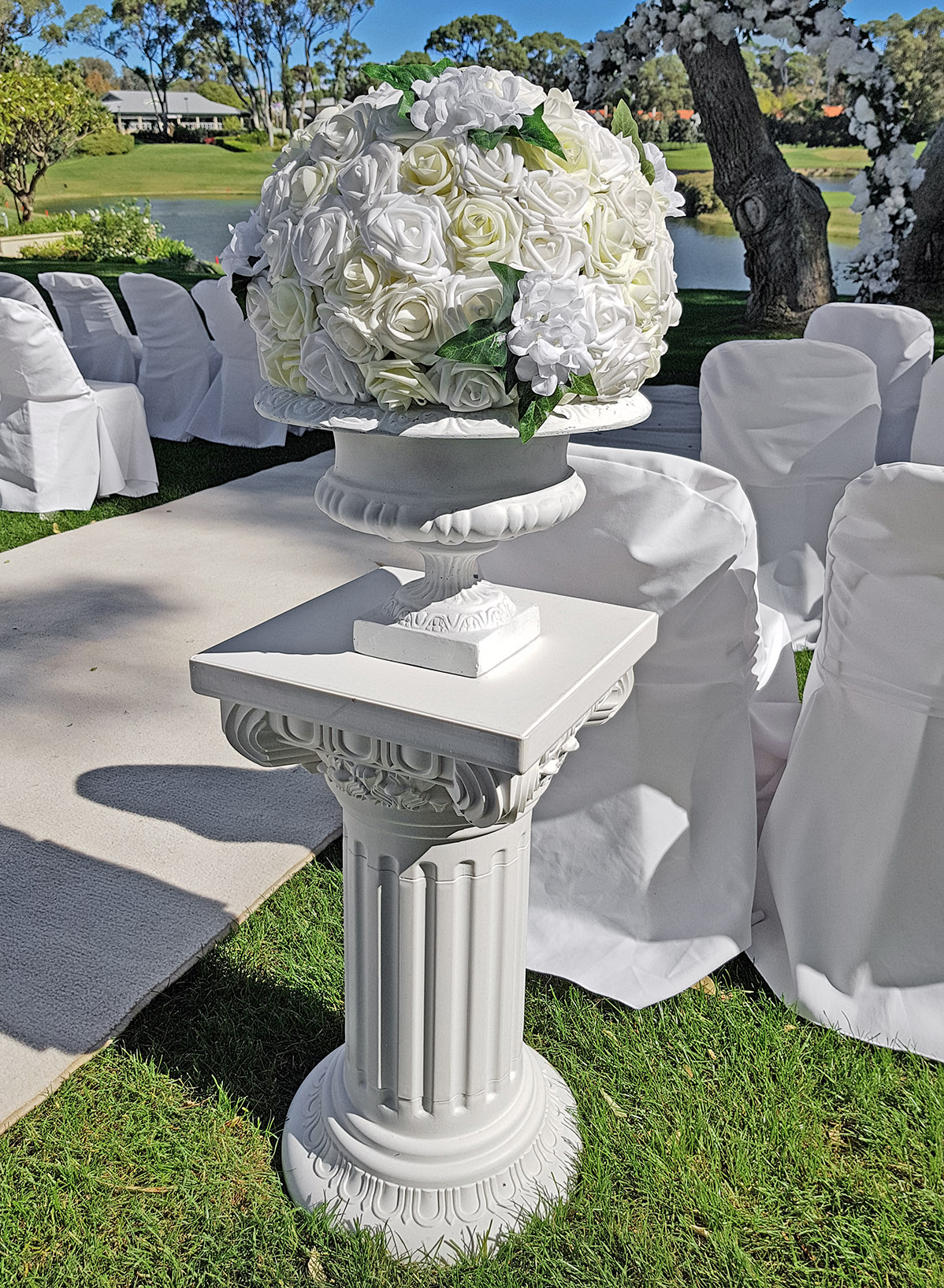 Topiarys and Pedestals $25.00