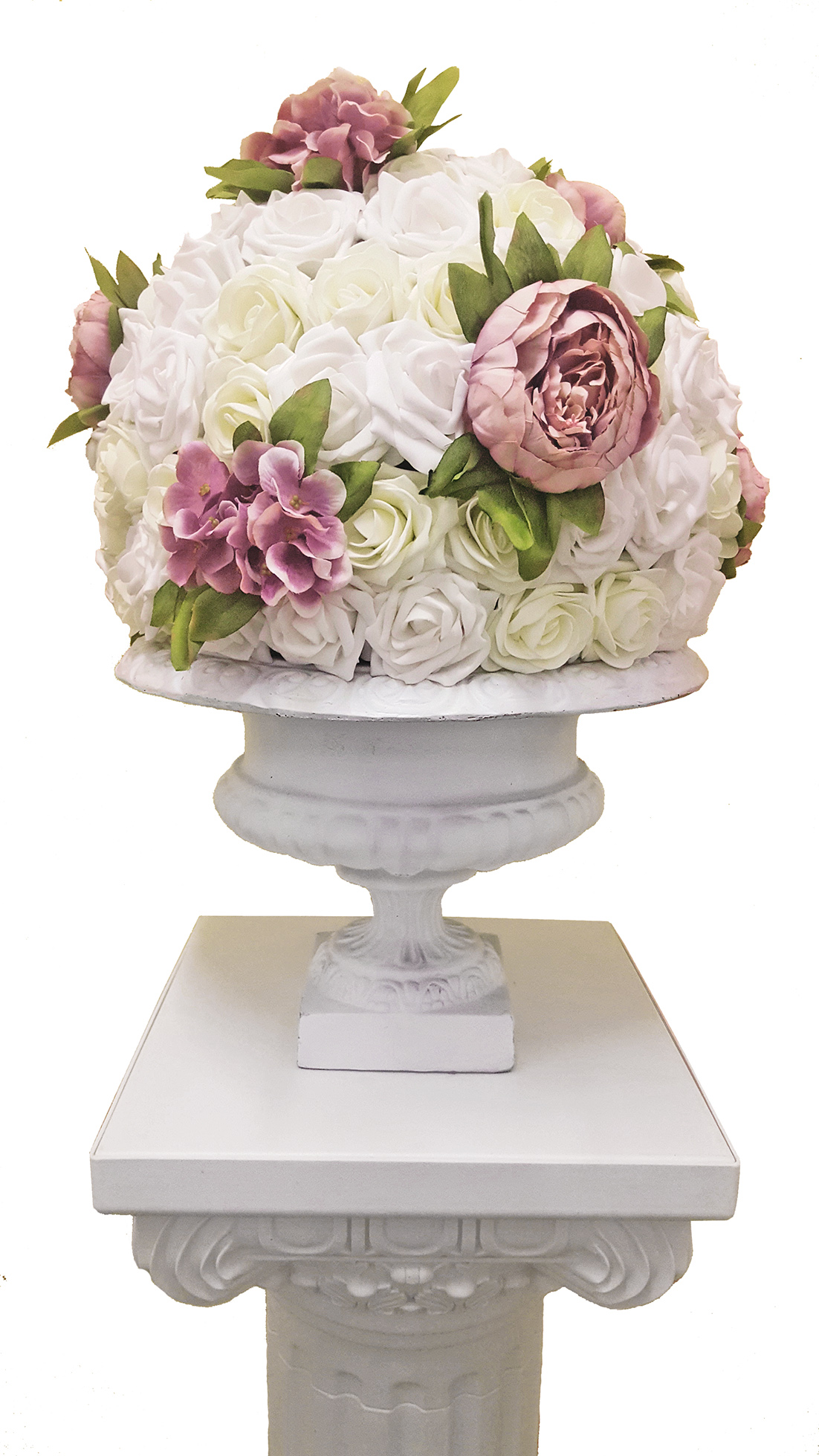 Floral Topiary Ball $25.00