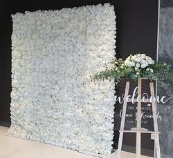 White Flower Wall $185.00