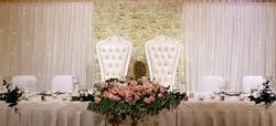 Bridal Table Backdrop $850