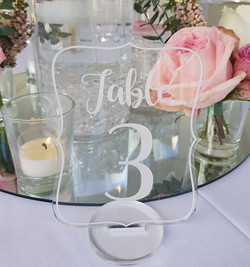 Table Numbers $3.50