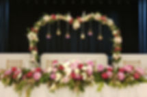 wedding arches and backdrops