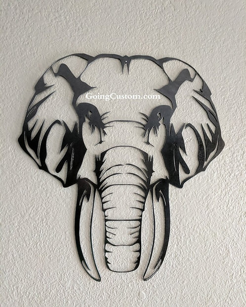 Single layer elephant outline