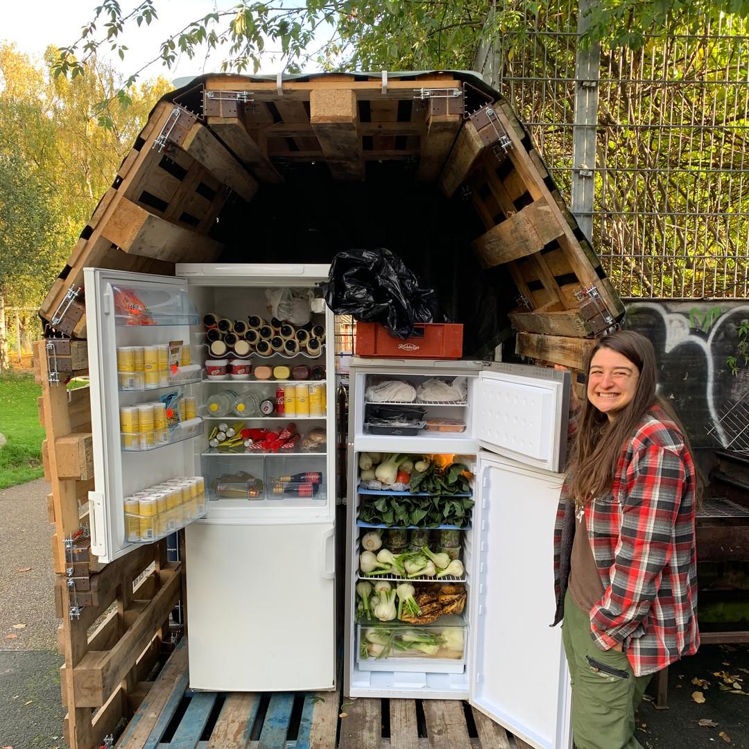 Fællesskabet i København- Free fridge CPH