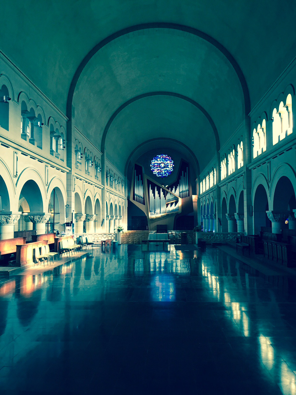 Notre-Dame de Grâce à Bruxelles - Sonorisation d'église par AVTE