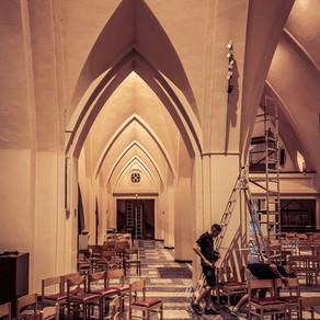 Nouvelle sono pour l'Eglise Saint-Paul de Woluwé.