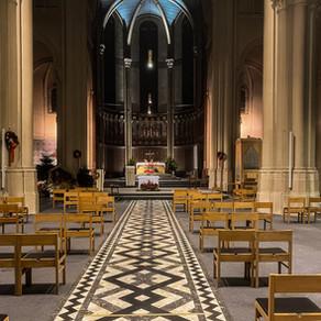 Nouvelle sonorisation pour l'église du parvis de Saint Gilles à Bruxelles.