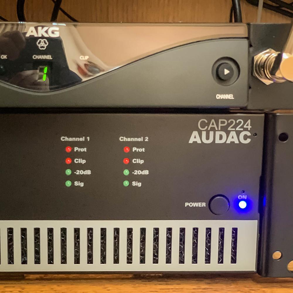 Amplificateur AUDAC - AVTE