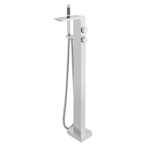 Omika Floor Mounted Bath Shower Mixer